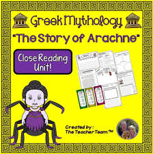 greek mythology the story of arachne packet by theteacherteam greek mythology the story of arachne packet by theteacherteam teaching resources tes