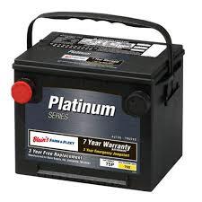 7 Year Platinum Automotive Battery