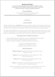 Serving Resume Example Server Resume Duties Here Are Server Resume