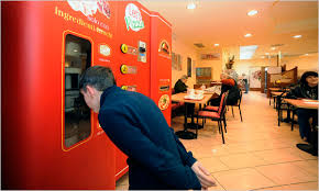 Vending Machine Restaurant Singapore Awesome First Vending Machine 'cafe' At MRT Station A Look At 48 Quirky