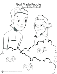 Adam And Eve Coloring Page At Getdrawingscom Free For Personal