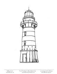 Small Picture Printable Lighthouse Coloring Pages Lighthouse at Milliande Printables