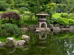Stone lanterns, known as 'toros', have been a feature of Japanese gardens  for centuries and were originally used to light entrances to shrines and  temples