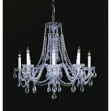 led crystal chandelier shape round