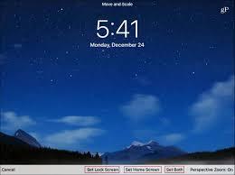 Lock Screen Wallpaper on Your iPad ...