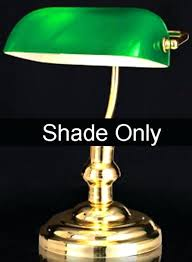 bankers lamp shade replacement green glass bankers pharmacy shade standard replacement