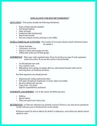 What Information Is Needed On A Resume Gojiberrycilegi Com
