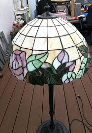 stained glass floor lamp shades stained glass floor lamp and hanging lamp