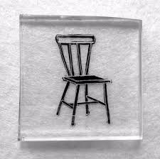 chair drawing. i asked my daughter to draw a chair. instead she took photograph, one in series of yoga pictures has been doing on instagram. chair drawing