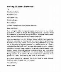 Nursing Cover Letter - Pointrobertsvacationrentals.com ...