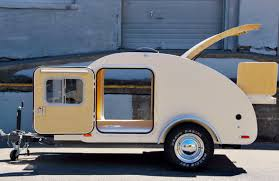 Diy travel trailer Caravan Teardrop Trailer High Camp Travel Trailer Portland Oregon Trailer For Sale Glenl 15 Of The Coolest Handmade Rvs You Can Actually Buy Campanda Magazine