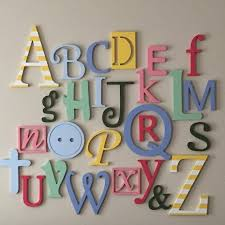nursery letters wall decor wooden alphabet letters set painted wall hanging nursery decor alph