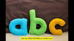 Crochet Letters Patterns Unique Crochet Letters Patterns YouTube