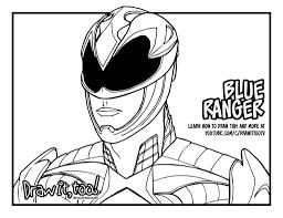 Blue Ranger (Power Rangers [2017] Movie) - Draw it, Too!