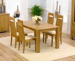 tempo solid oak dining table and 4 chairs stunning argos dining table
