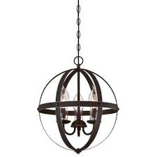 stella mira 3 light oil rubbed bronze with highlights outdoor hanging chandelier