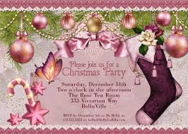 christmas party invitation victorian christmas card ladies 128270zoom