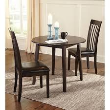 Ashley Hammis 3 Piece Dining Room Set in Dark Brown