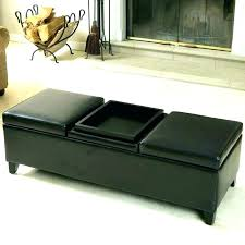 round storage ottoman coffee table leather ottomans round storage
