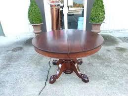 antique oak claw foot pedestal table antique claw foot table antiques by design round mahogany ball