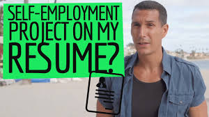 I Lied On My Resume And Got The Job How To List A SelfEmployment Project In My Resume YouTube 47