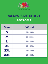 Mens Boxer Brief Size Chart Fruit Of The Loom Fruit Of The Loom Mens Dual Defense