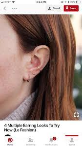 30497820 Pin By Nisa On Ceviliri In 2019 Piercings Cute Ear