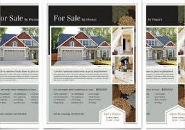 Open House Flyer Template Publisher Open House Flyer Template