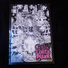 Goth Light Novel Gothic Lolita Punk By Ricorico A Book About The Depop