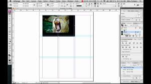 indesign inserting pictures using the frame tool