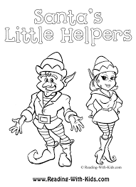 Elf Coloring Pages Printable New Images Christmas Elf Coloring Pages