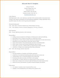 Resume Format Microsoft 24 Cv Format Microsoft Word Lobo Development 19