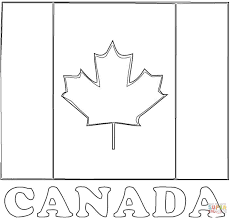 Small Picture Flag Of Canada coloring page Free Printable Coloring Pages