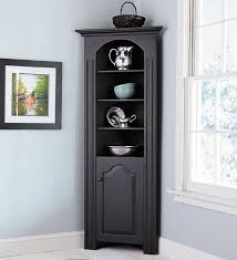 Richmond Corner Cabinet in chestnut - for entry way by door to store all  dog leashes