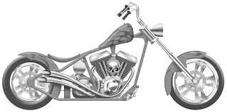 Harley-Davidson Crusader Custom Chopper  C