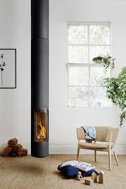 Designer Kaminofen Slimfocus Oblica Melbourne Modern Designer Fireplaces