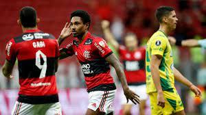 442   Flamengo fue demasiado para Defensa y Justicia y volvió a sacar chapa  de candidato