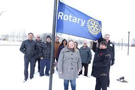 Rotary flag hoisted at city hall in Canada | ROTARY NEWS