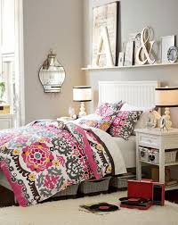 master bedroom necessities. necessities: pink, orange, black, white and a bedside table for all your master bedroom necessities