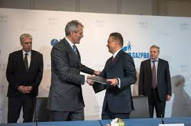 Gazprom And Omv Sign Binding Basic Agreement On Asset Swap