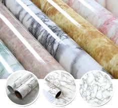countertop adhesive vinyl marble waterproof self adhesive wallpaper roll for bath kitchen cupboard cabinet home decor countertop adhesive