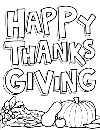 15 Printable Thanksgiving Coloring Pages
