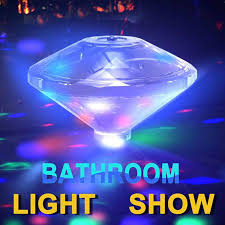 Baby Bath Disco Lights Underwater Bath Light Waterproof Led Swimming Pool Light Different Lighting Color Multiple Modes Floating In The Water Underwater Night Light Show