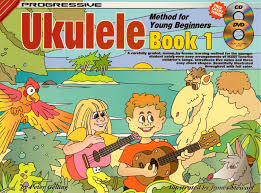 Childrens Dvd Chart Progressive Ukulele Method For Young Beginners Book 1 Softcover Cd Dvd