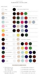 Color Chart For Clothes To Pick Your Perfect Outfit Figure Out Which Colors Look