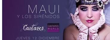 Acompañaran a Maui esta noche tan especial, los sirenidos Pablo Baez al contrabajo, Nasrine Rahmani a la percusión y el gran Diego Guerrero a la guitarra. - maui-madrid-cantares