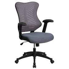 office chairs designer. Flash Furniture High Back Gray Designer Mesh Executive Swivel Office Chair  With Padded Seat Office Chairs Designer E