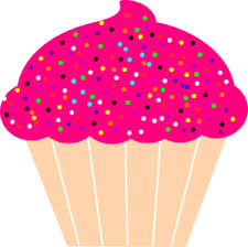 cupcakes with sprinkles clipart. Simple Clipart Cupcake With Pink Frosting And Sprinkles Clip Art Lots Of From Files Here For Cupcakes Clipart T