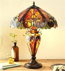 stained glass lamp bases inspired wind weather stain lamps inside idea whole australia la