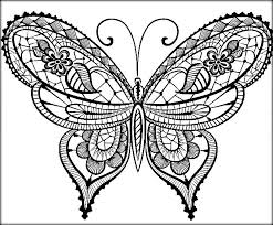Small Picture Beautiful Butterfly Coloring Pages For Preschool Color Zini